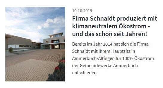 Schnaidt GmbH Ammerbuch